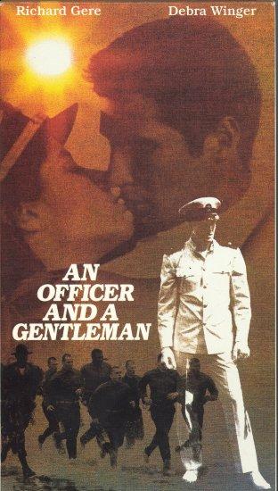 An Officer and a Gentleman ~ VHS Tape ~ 1982 ~ Richard Gere & Debra Winger