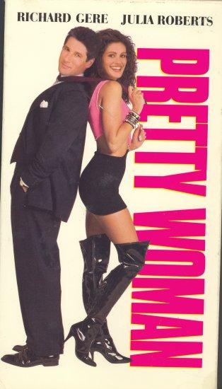 Pretty Woman ~ VHS Tape ~ 1990 ~ Richard Gere & Julia Roberts