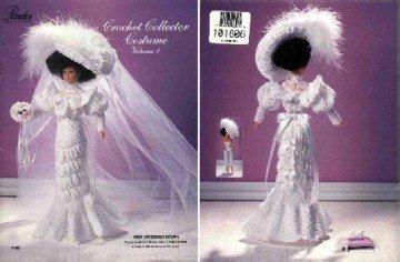 Barbie Crochet Pattern ~ 1905 Wedding Gown