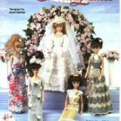 Barbie Crochet Pattern ~ Pretty Ladies ~ Wedding