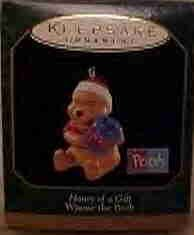 Hallmark Miniature Ornament ~ Honey of a Gift 1997 ~ Winnie the Pooh