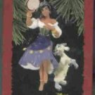 Hallmark Ornament ~ Esmeralda & Djali 1996 ~ Hunchback of Notre Dame
