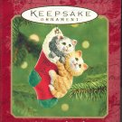 Hallmark Ornament ~ Mom and Dad 2001 ~ Cats
