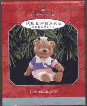 Hallmark Ornament ~ Granddaughter 1998
