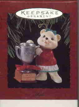 Hallmark Ornament ~ Mom 1994 ~ Bear