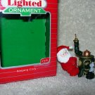 Hallmark Lighted Ornament ~ Keeping Cozy 1987