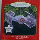 Hallmark Magic Ornament  ~ Darth Vader's TIE Fighter 1999 ~ Star Wars