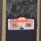 Hallmark Magic Ornament ~ Santas Diner 1995