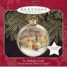 Hallmark Magic Ornament ~ St Nicholas Circle 1998 ~ Thomas Kinkade