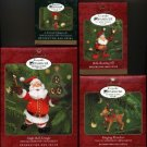 4 Hallmark Ornaments ~ 2000 Membership