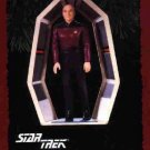 Hallmark Ornament ~ Captain Jean-Luc Picard 1995 ~ Star Trek The Next Generation