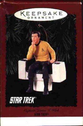 Hallmark Ornament ~ Captain James T Kirk 1995 ~ Star Trek