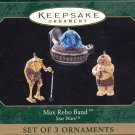 Hallmark Miniature Ornament ~ Max Rebo Band 1999 ~ Star Wars ~ set of 3