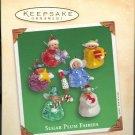 Hallmark Miniature Ornaments ~ Sugar Plum Fairies 2002 ~ set of 6