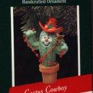 Hallmark Ornament ~ Cactus Cowboy 1989