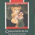 Hallmark Ornament ~ Cinnamon Bear 1989 ~ Porcelain Bear series