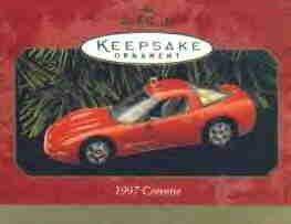 Hallmark Ornament ~ Corvette 1997
