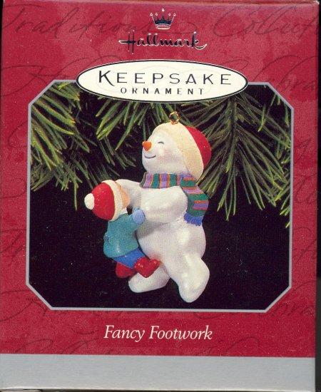 Hallmark Ornament ~ Fancy Footwork 1998 ~ Snowman