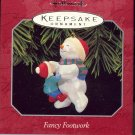 Hallmark Ornament ~ Fancy Footwork 1998 ~ Snowman