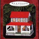 Hallmark Ornament ~ Farm House 1999 ~ Town and Country series