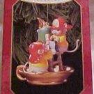 Hallmark Ornament ~ Flame-Fighting Friends 1999 ~ Firemen Mice