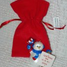 Hallmark Ornament ~ God Bless the USA 2001 ~ Snowman