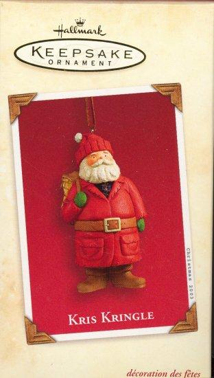 Hallmark Ornament ~ Kris Kringle 2003
