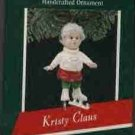 Hallmark Ornament ~ Kristy Claus 1989