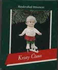 Hallmark Ornament ~ Kristy Claus 1989