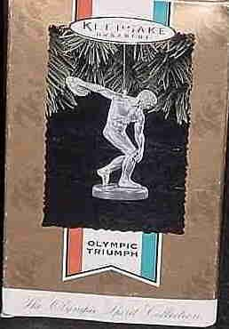 Hallmark Ornament ~ Olympic Triumph 1996