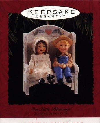 Hallmark Ornament ~ Our Little Blessings 1995
