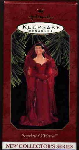 Hallmark Ornament ~ Scarlett O'Hara 1997 ~ Scarlett O' Hara series ~ Gone With The Wind