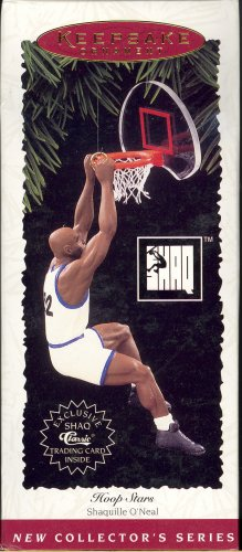 Hallmark Ornament ~ Shaquille O Neal 1995 ~ Hoop Star series