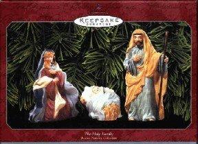 Hallmark Ornament ~ The Holy Family 1999 ~ set of 3