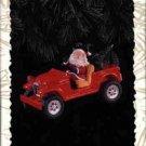Hallmark Ornament ~ Santa's 4 x 4 - 1996 ~ Here Comes Santa series