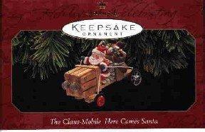 Hallmark Ornament ~ The Claus-Mobile 1997 ~ Here Comes Santa series