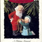 Hallmark Ornament ~ A Fitting Moment 1993 ~ Mr. and Mrs. Claus series