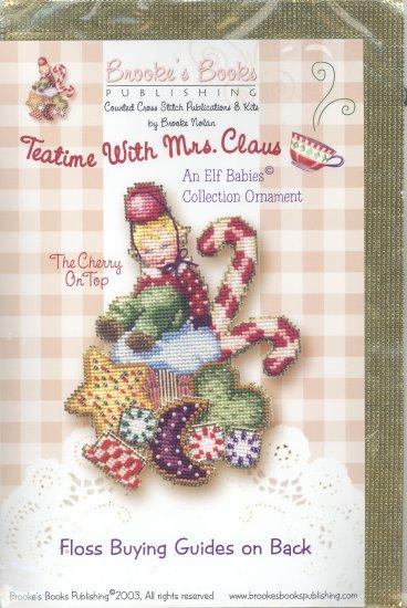 The Cherry on Top ~ Elf Babies Ornament Cross-Stitch & Bead Kit