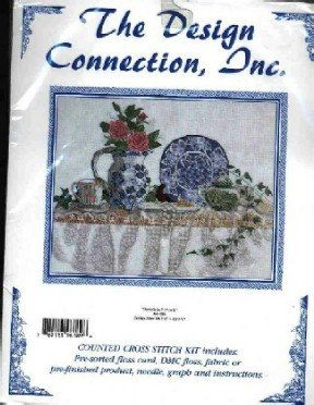 Porcelain & Pearls ~ Victorian ~ Cross-Stitch Kit