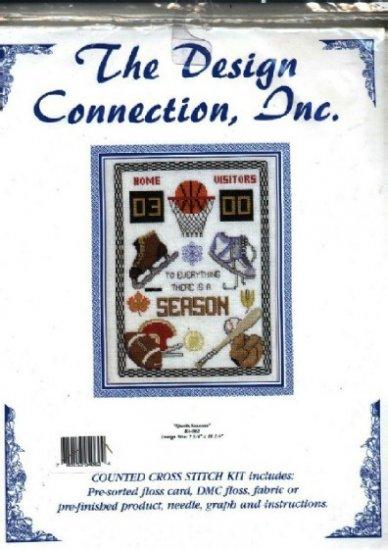 Sports Seasons ~ Cross-Stitch Kit
