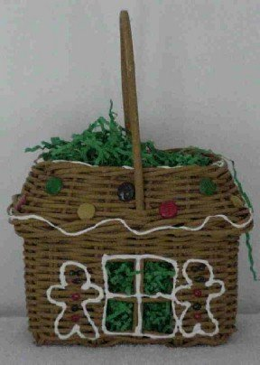 Gingerbread House Basket