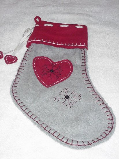 Lodge ~ Primitive ~ Country Look ~ Christmas Stocking