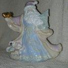 Pastel glazed Santa Statue