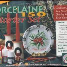 Porcelaine Starter Set ~ Paint, Bake & Enjoy