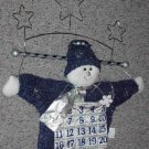 Snowman Advent Wallhanging ~ Countdown to Christmas