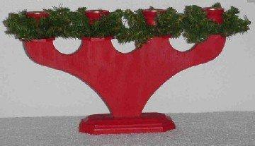 Swedish Christmas Candleholder ~ Hand-made in Sweden