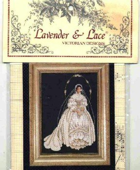 I Thee Wed ~ Lavender & Lace Victorian Designs ~ Cross-Stitch Chart