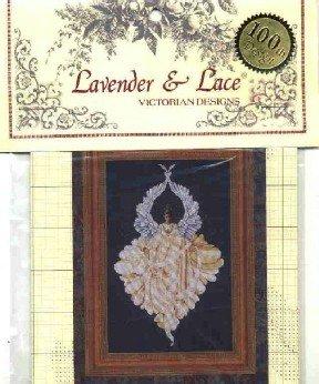 Peace Angel ~ Lavender & Lace Victorian Designs ~ Cross-Stitch Chart