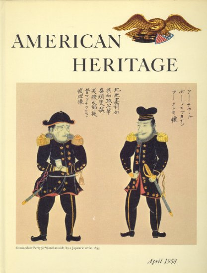 American Heritage Magazine Book ~ April 1958 ~ IX 3