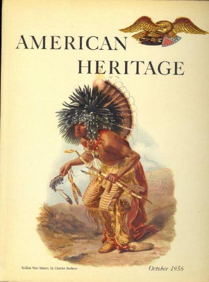 American Heritage Magazine Book ~ October 1956 ~ VII 6